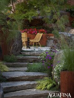 Landscape Crushed Stone, Flagstone Design, Pictures, Remodel, Decor and Ideas - page 46