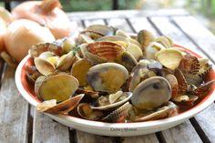Cazuela de berberechos y almejas, receta paso a paso. un lujo de aperitivo y súper fácil¡¡¡ http://wp.me/p1smUs-aUQ