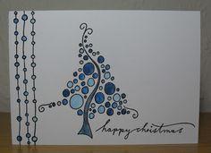 Helen Craft Haven …: Blasenbaum - Neujahr Christmas Doodles, Christmas Card Crafts, Christmas Art, Minimal Christmas, Simple Christmas, Watercolor Christmas Cards, Christmas Drawing, Christmas Paintings, Harry Potter Birthday Cards