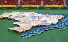 Vaias para Joseph Blatter e Dilma marcam início da Copa das Confederações - Confederações 2013 - iG