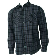 Electric Mens Flannel Mason Blue