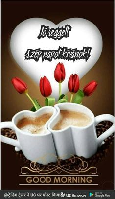 Györgyné Kis - Google+ Morning Images, Good Morning, Beautiful Pictures, Mugs, Humor, Coffee, Tableware, Good Day, Kaffee