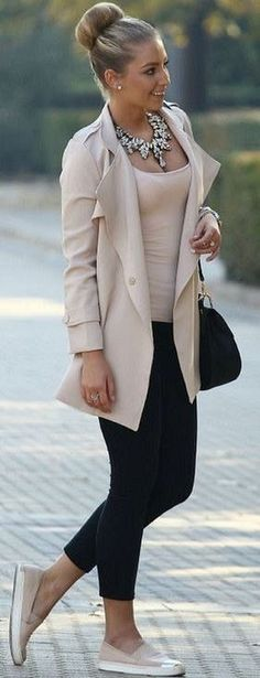 Cute Spring Chic Office Outfits Ideas 38