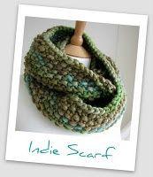 Indie scarf. Free pdf download..