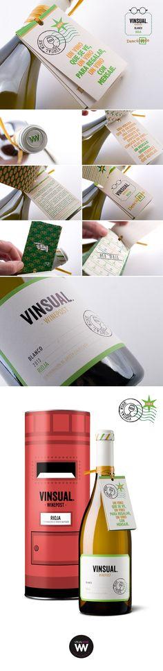VINSUAL WINEPOST WHITE RIOJA - INTELLIGENT TANINOTANINO WINES - WINES MAXIMUM