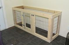 Cavies, Doodles and Poo: DIY Cabinet Style Dog Kennel