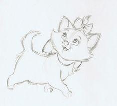 Aristocats Marie drawing #disney #aristocats #art