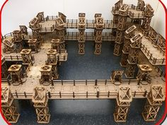 Crowdfunding Spotlight: 28mm Laser Cut 3D Terrain, T.J.H Models Kickstarter…