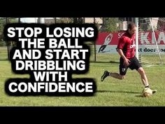This video will give you soccer training ideas on how to practice dribbling by yourself to dribble w/ confidence. Soccer Footwork Drills, Soccer Training Drills, Soccer Drills For Kids, Soccer Workouts, Soccer Practice, Soccer Skills, Soccer Coaching, Play Soccer, Soccer Ball