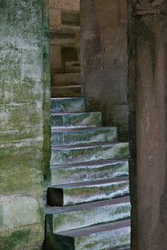 Crypt stairs in Eglise Notre Dame, Mont-devant-Sassy (Meuse) (Photo by Dennis Aubrey) Romanesque Architecture, Medieval, Stairs, Skyrim, Stairway, Mid Century, Staircases, Middle Ages, Ladders