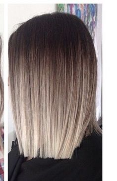 I love this ombré! It's so transitional! I might be considering a blonde and red ombré now.... hmmm