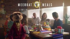 Introducing Meerkat Meals - Party - YouTube Meals, Party, Youtube, Meal, Parties, Yemek, Youtubers, Youtube Movies, Food
