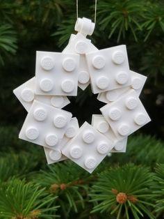 Items similar to LEGO® Christmas Star Ornament on Etsy LEGO® Weihnachtsstern Ornament Lego Christmas Ornaments, Christmas Crafts For Kids, Christmas Projects, Holiday Crafts, Christmas Diy, Christmas Decorations, Santa Crafts, Xmas, Deco Lego