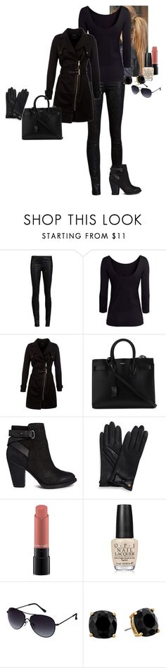"""Sia Mely Hawkins - Absentia (1)"" by katlayden ❤ liked on Polyvore featuring Helmut Lang, H&M, Morgan, Yves Saint Laurent, ALDO, Tory Burch, MAC Cosmetics, OPI, Kenneth Cole Reaction and Kate Spade"