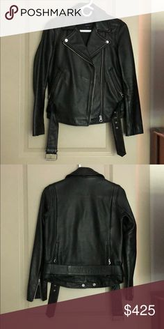 7f894dd886b Shop Women s Madewell Black size XS Jackets   Coats at a discounted price  at Poshmark. Description  Brand New Madewell Black Leather Jacket - worn  twice