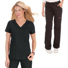 Orange Standard Del Mar Scrub Set in Navy, consist of Orange Standard Coronado Scrub Top and Orange Standard Laguna Trousers, the set is stylish and comfortable, Orange Scrubs, Navy Scrubs, Black Scrubs, Dental Uniforms, Healthcare Uniforms, Stylish Scrubs, Koi Scrubs, Scrubs Uniform, Medical Scrubs