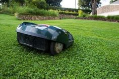 Robotic lawn mowers give you an immaculate lawn without any effort, go here for more info: http://easylawnmowing.co.uk/