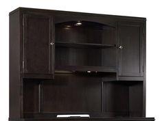 Hooker Furniture Kendrick Tall Computer Credenza Hutch 1060-10467