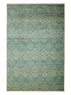 Eclectic Hand-Knotted Rug by Solo Rugs at Gilt