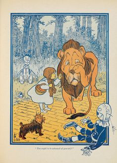 The New Wizard of Oz by L. Frank Baum illustrated by W W Denslow. Bobbs-Merrill Co, 1903
