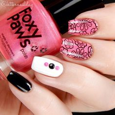 Love the flower stamping
