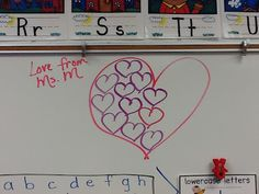 Whole Brain Teaching HEART is full, the kids get 10 minutes of free time or extra recess minutes!