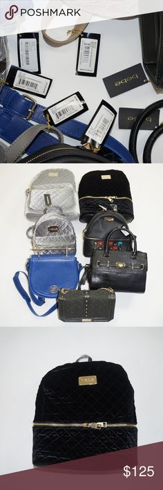 b87a259be733 BEBE Handbag Backpack Wholesale Mystery Lot NWT