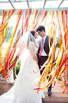 ribbon decor | photo by Nancy Ray