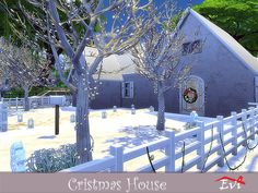 evi's Sims 4 Downloads - 'christmas' Sims 4, Modeling, Content, Mansions, House Styles, Christmas, Home Decor, Sims House, Houses