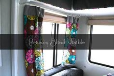 Campers Window And Bedroom Ideas On Pinterest