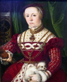 Christoph Amberger (1500/5-c1561/2): Portrait of Regina Baumgartner née Herold (Augsburg, 1540) | Flickr - Photo Sharing!