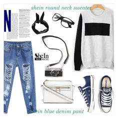 """shein fashion"" by sheinside ❤ liked on Polyvore featuring Boohoo"