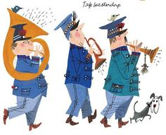 Sylvia Lande Notes: Illustrator Fiep Westendorp People Illustration, Children's Book Illustration, Graffiti, Music Drawings, Dogs And Kids, Vintage Children's Books, Vintage Art, Portraits, Illustrations Posters