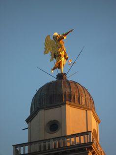 novembre 2014  l'angelo di Udine restaurato.
