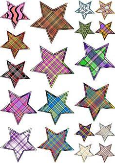 ArtbyJean - Paper Crafts: ---STARS