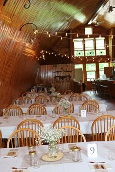 Homestead Farm, Barn Weddings, Rustic Barn, Homesteading, Table Settings, Table Decorations, Furniture, Home Decor, Decoration Home