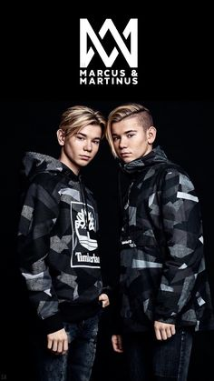 Marcus and Martinus wallpaper 🖤💫 Cute Twins, Cute Boys, Marcus Y Martinus, Mike Singer, Cute Pictures, Cool Photos, Famous Twins, Bae, Bars And Melody