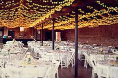 wedding ceiling lighting