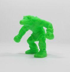 Monster In My Pocket - Series 2 - 69 Sebek - Neon Lime - Mini Figure