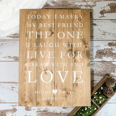 Welcome To Our Wedding, Wedding In The Woods, Wedding Day, Wood Wedding Signs, Wood Signs, Country Barn Weddings, Marrying My Best Friend, Guest Book Alternatives, Whimsical Wedding