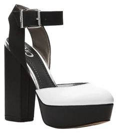 Perfect Pumps for NYE2016! On sale in my Tradesy closet now! Sam Edelman Pumps Black and White Platforms
