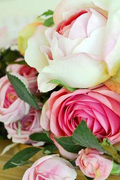 Fresh cut garden roses!