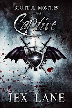 Book Review: Captive (Beautiful Monsters Book 1) by Jex Lane | reading, books, book reviews, fantasy, urban fantasy, lgbt, m/m, vampires, incubi
