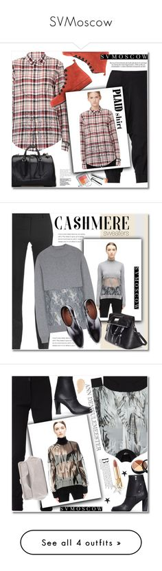 """""""SVMoscow"""" by svijetlana ❤ liked on Polyvore featuring Share Spirit, Ann Demeulemeester, If Six Was Nine, Jill Stuart, Undercover, Maison Margiela, Marni, polyvoreeditorial, cashmere and svmoscow"""