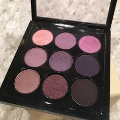 Makeup Mac purple 9Xs eye shadow pallet MAC Cosmetics Makeup Eyeshadow