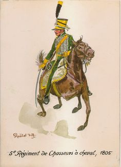 5th Chasseurs a Cheval, Chasseur 1805