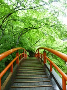 """Kajika-Hashi""(Ponte), Ikaho-Onsen(Terme) Gunma Japan"