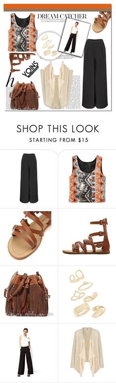 """""""Yoins 37"""" by mini-kitty ❤ liked on Polyvore featuring Whiteley, Diane Von Furstenberg, Topshop, Yumi and yoins"""