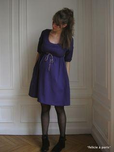 beau patron gratuit robe de grossesse