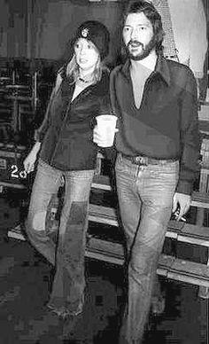 Pattie Boyd & Eric Clapton